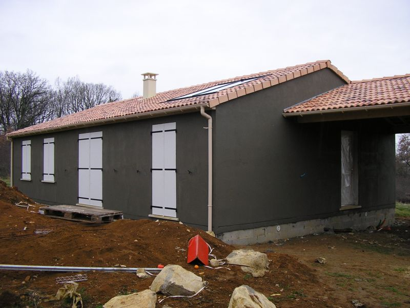 Construire avec maison phenix notre histoire le cr pis - Couleur de crepis exterieur maison ...