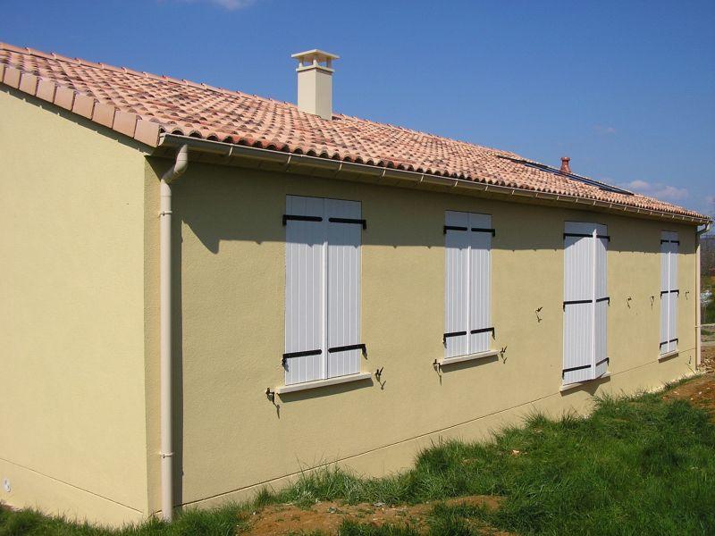 maison jaune ivoire